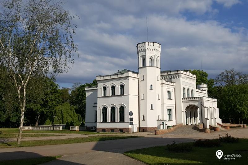 Będlewo, pałac niedaleko poznania, wielkopolska atrakcje, zamki i pałace w wielkopolsce