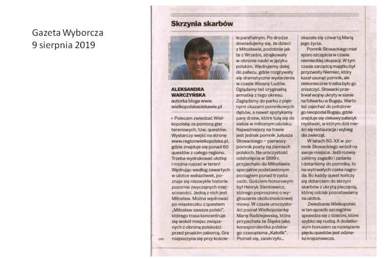 Współpraca Gazeta Wyborcza