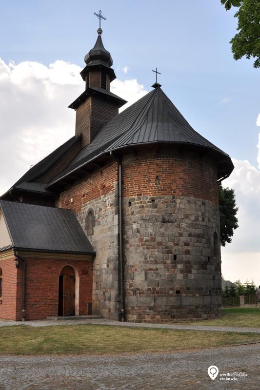 Kościelec Kaliski, kościół romański, szlak romański, architektura romańska, wielkopolska atrakcje, ciekawe miejsca w wielkopolsce, wielkopolska na weekend