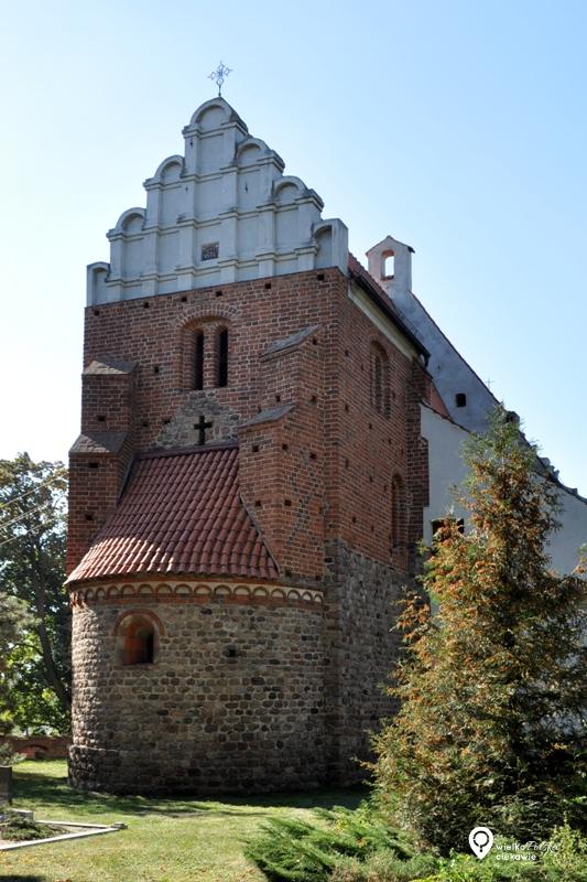 szlak piastowski, romański kościół w lubiniu,, styl romański, wielkopolska atrakcje, ciekawe miejsca w wielkopolsce, szlak romański