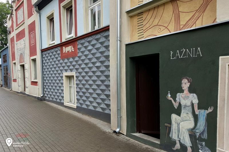 pyzdry, mural, mural w pyzdrach, wycieczki po wielkopolsce, ciekawe miejsca w wielkopolsce, wakacje w polsce, ciekawe miejsca w wielkopolsce, wycieczki jednodniowe z poznania, najładniejsze murale w polsce, streetart w Polsce