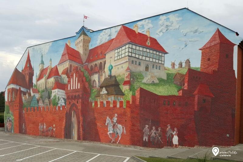 pyzdry, mural, mural w pyzdrach, wycieczki po wielkopolsce, ciekawe miejsca w wielkopolsce, wakacje w polsce, ciekawe miejsca w wielkopolsce, wycieczki jednodniowe z poznania, streetart, najładniejsze murale w polsce