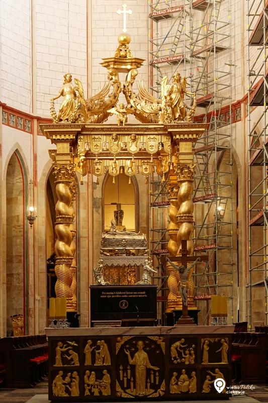 Gniezno, św. wojciech, szlak piastowski, gniezno katedra, konfesja św. wojciecha