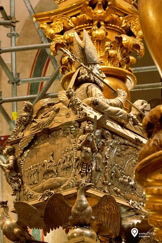 św. Wojciech, gniezno, gniezno katedra, konfesja św. wojciecha, wielkopolska atrakcje, ciekawe miejsca w wielkopolsce