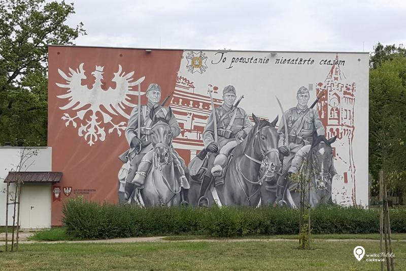 Biedrusko, mural, streeart, mural powstanie wielkopolskie, najładniejsze murale w polsce, wielkopolska atrakcje, ciekawe miejsca w wielkopolsce