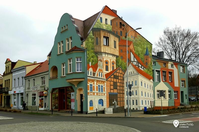 czarnków, mural w czarnkowie, mural, ciekawe miejsca w wielkopolsce, najładniejsze murale w polsce, wycieczki jednodniowe z poznania, wielkopolska atrakcje