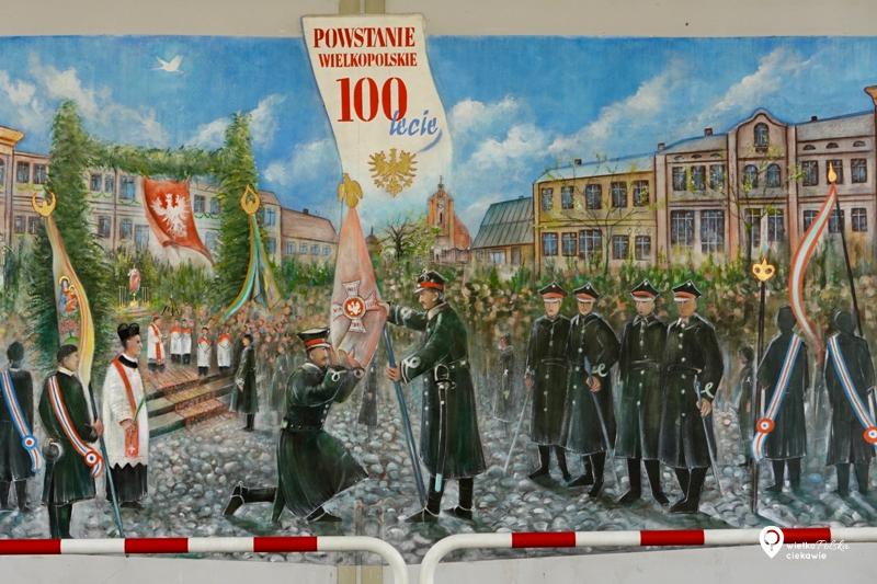 Pobiedziska, mural, powstanie wielkopolskie, najładniejsze murale w polsce, murale w wielkopolsce, wielkopolska atrakcje, ciekawe miejsca w wielkopolsce