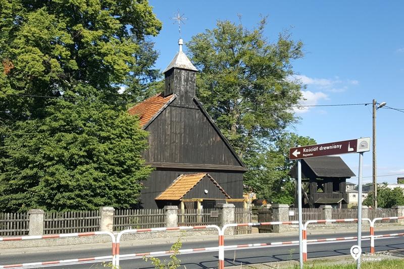 Rejowiec, puszcza zielonka, drewnany kościół, wielkopolska atrakcje, ciekawe miejsca w wielkopolsce, ciekawe miejsca blisko poznania, mikołaj rej