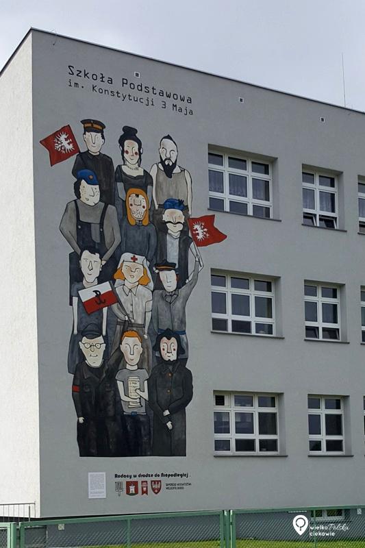 Śmigiel, mural, powstanie wielkopolskie, najładniejsze murale w polsce, murale w wielkopolsce, wielkopolska atrakcje, ciekawe miejsca w wielkopolsce