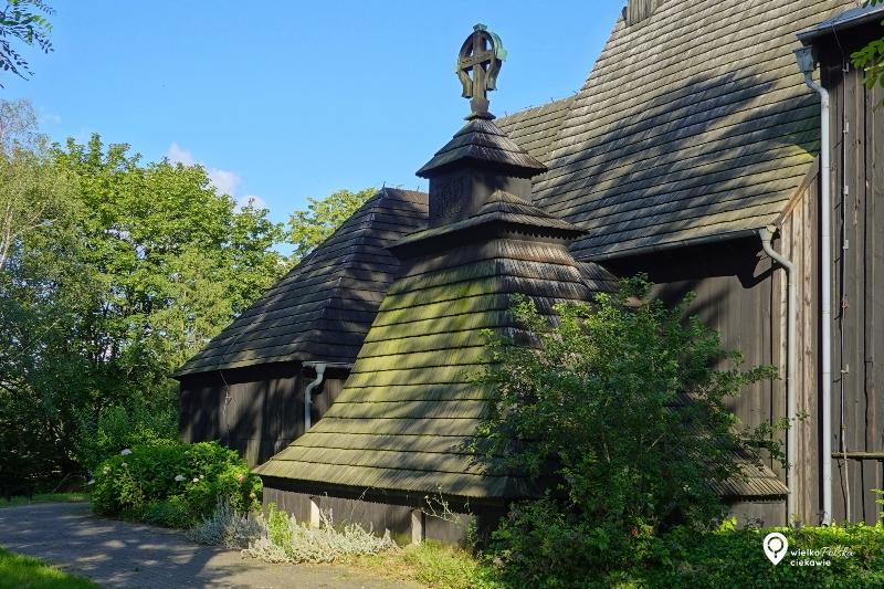 wierzenica, kościoły drewniane, puszcza zielonka, wielkopolska atrakcje, ciekawe miejsca w wielkopolsce, ciekawe miejsca blisko poznania, cieszkowski