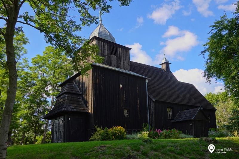 wierzenica, kościoły drewniane, puszcza zielonka, wielkopolska atrakcje, ciekawe miejsca w wielkopolsce, ciekawe miejsca blisko poznania