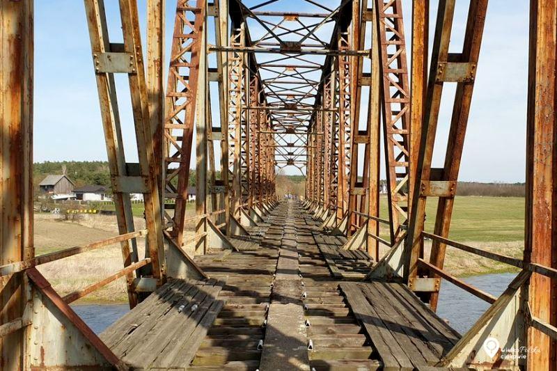 most w stobnicy, nieczynny most, ciekawe miejsca w wielkopolsce, wielkopolska atrakcje, jednodniowa wycieczka z poznania, puszcza notecka