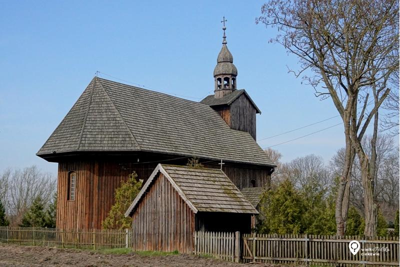 Drewniany kościół, Słopanowo, ciekawe miejsca w wielkopolsce, wielkopolska atrakcje, jednodniowa wycieczka z poznania, obrzycko atrakcje