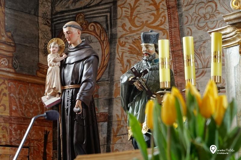 drewniany kościół, słopanowo, ciekawe miejsca w wielkopolsce, wielkopolska atrakcje, powiat szamotulski, obrzycko