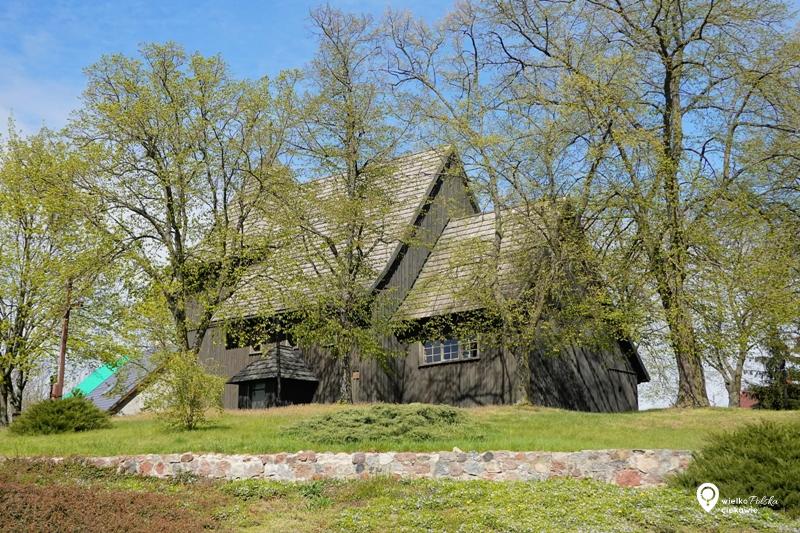 Tarnowo Pałuckie, kościół drewniany, wielkopolska, szlak piastowski, wągrowiec, cystersi