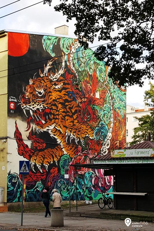 poznań, jeżyce, mural, streetart, ciekawe miejsca w poznaniu, poznań atrakcje